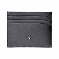 Мужской бизнес-держатель для карт MB-113172 из кожи серого цвета