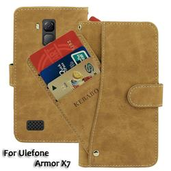 На Алиэкспресс купить чехол для смартфона leather wallet ulefone armor x7 case 5дюйм. flip fashion luxury front card slots cases cover business magnetic phone bags