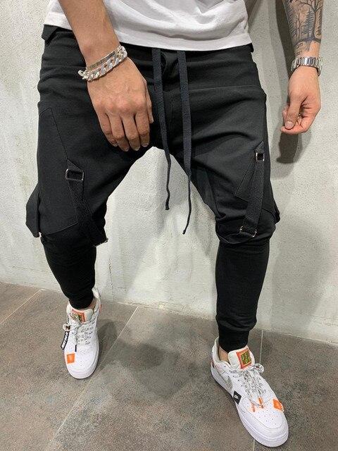 MARKA KRALI-Pantalones de chándal divertidos para Hombre, ropa de calle para correr, entrenamiento de Hip-Hop 4