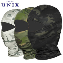 Multicam CP kamuflaż kominiarka pełna twarz Wargame jazda na rowerze polowanie armia rower hełm wojskowy Liner Tactical Airsoft Cap tanie tanio Drukuj Poliester Aktywny Anti-UV Breathable Windproof Polyester Unisex Spring Summer Autumn Winter Snowboarding Airsoft Paintball Hunting Tacitcal Cycling