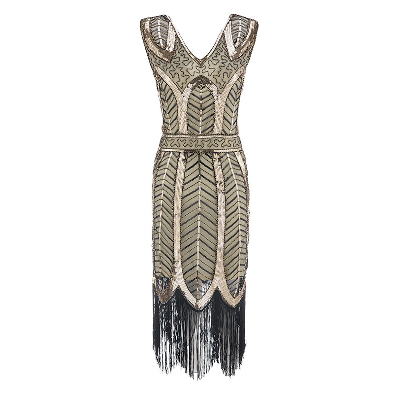 Plus size Womens Fashion 1920s Flapper Dress Vintage Great 