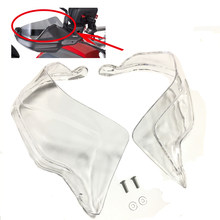 For R1200GS Adventure LC F800GS S1000XR R1250GS Clear Handguard Windscreen Windshield Motorcycle Hand Guards Shield Extension(China)