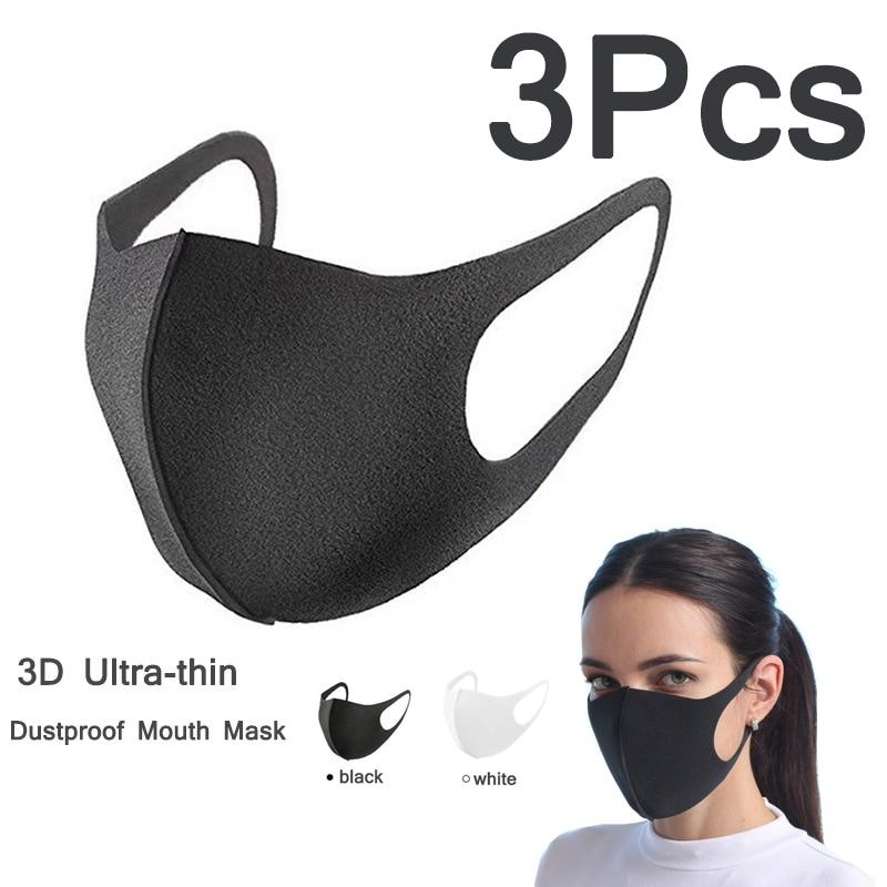 Dustproof Anti-Bacterial Anti-Haze Dust Anti-PM2.5 Pollen Allergy Mouth Masks