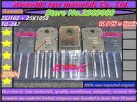 Aoweziic 2019 + 100% nuevo importado original 2SJ162 2SK1058 2SJ162 K1058 J162 TO-247 tubo audible de alta potencia (1 par)