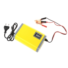 12V 6A Car Motorcycle Smart Automatic Battery Charger Maintainer Trickle EU/US Plug