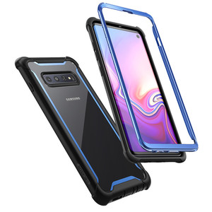 Image 2 - For Samsung Galaxy S10 Case 6.1 inch i Blason Ares Full Body Rugged Clear Bumper Cover WITHOUT Built in Screen Protector