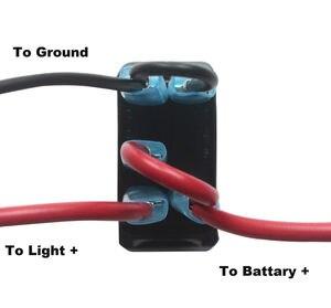 Image 5 - 12V 24V,ปิด,สีเขียว & ลงสีแดง Led Backlit  Cabin เลเซอร์ Rocker สำหรับรถเรือรถบรรทุก Push สวิทช์