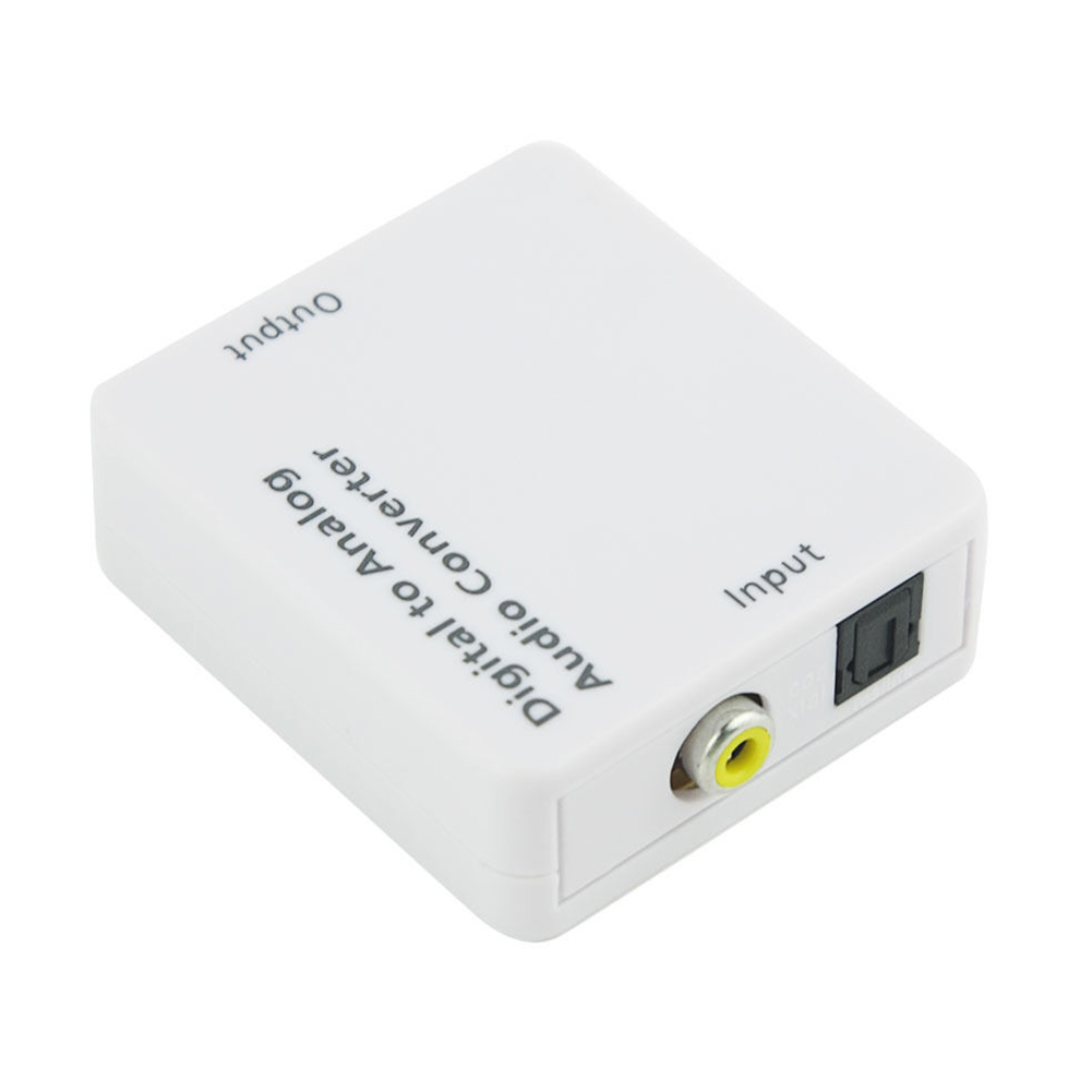 Professional Accessories Optical Coaxial Home Portable USB Port Digital To Analog Audio Converter Connector Durable TOSLINK