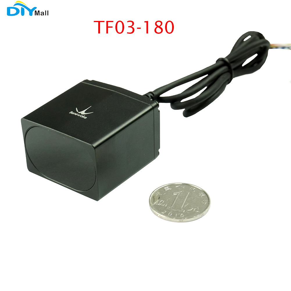 Benewake IP67 TF03-180 LiDAR Long-range Industrial High-speed Distance Sensor Up to 180m UART/CAN/IO,RS485/RS232 TF03 Lidar