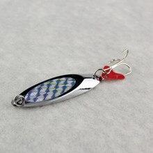 Pesado brillante de Metal de cucharas para pesca señuelo trucha, Lucio Wobblers cebo 35g/42g/56g/80g de corte de ángulo cuchara Spinner para la pesca