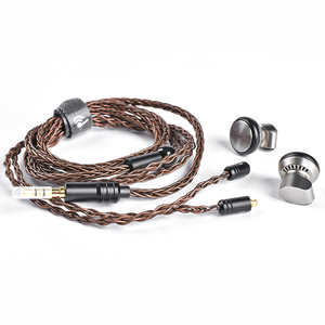 Image 5 - Yincrow RW 1000 3.5mm דגל Earbud HIFI מתכת CNC אוזניות 15mm דינמי BK PK2 EBX ST 10 RW1000 KP120 להסרה MMCX כבל