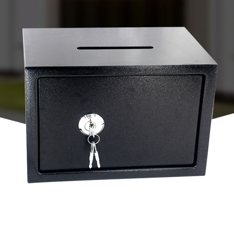 Safety Box Anti-theft  Storage Bank Security Money Jewelry Storage Collection Home Office Security Storage Box LBXX002