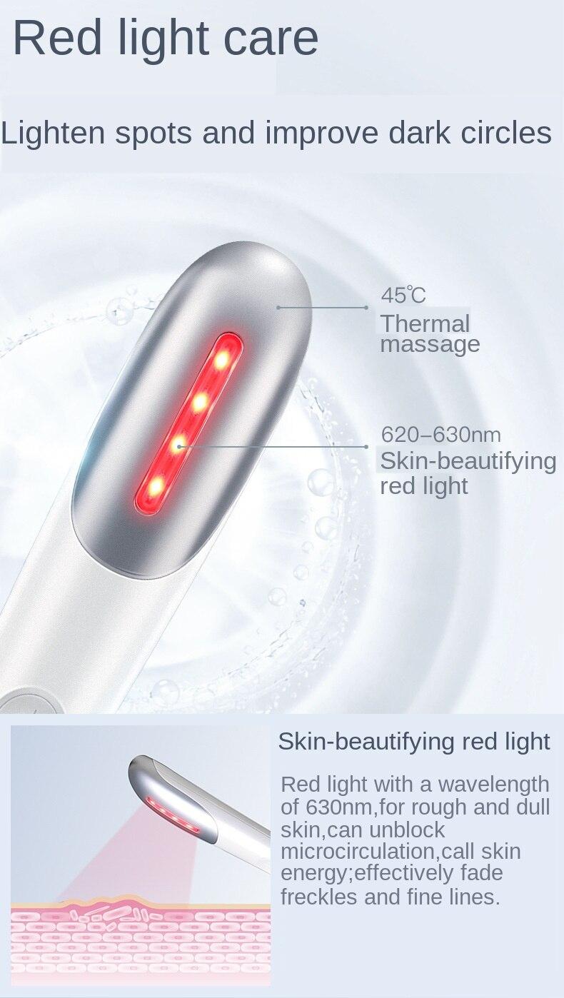 vermelha ferramenta cuidados com os olhos alívio fadiga