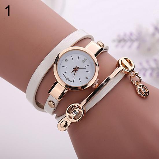 Fashion Women Quartz Wrist Watch Long Slims Clock Faux Leather Band Strap Wristwatch Rhinestone Watch Reloj Mujer Reloj Feminino