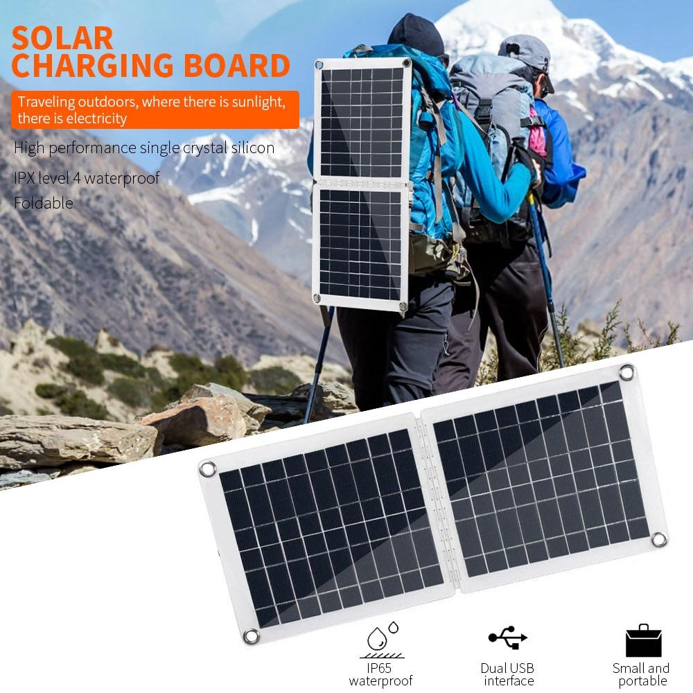 Painel solar dobrável 60w polissilicon 18v 12v