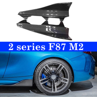 2pcs/Lot M2 Rear Body Side Skirts Splitters Cupwings Winglets for BMW 2 Series F87 M2 Base Coupe 2016 2018 Flaps Carbon