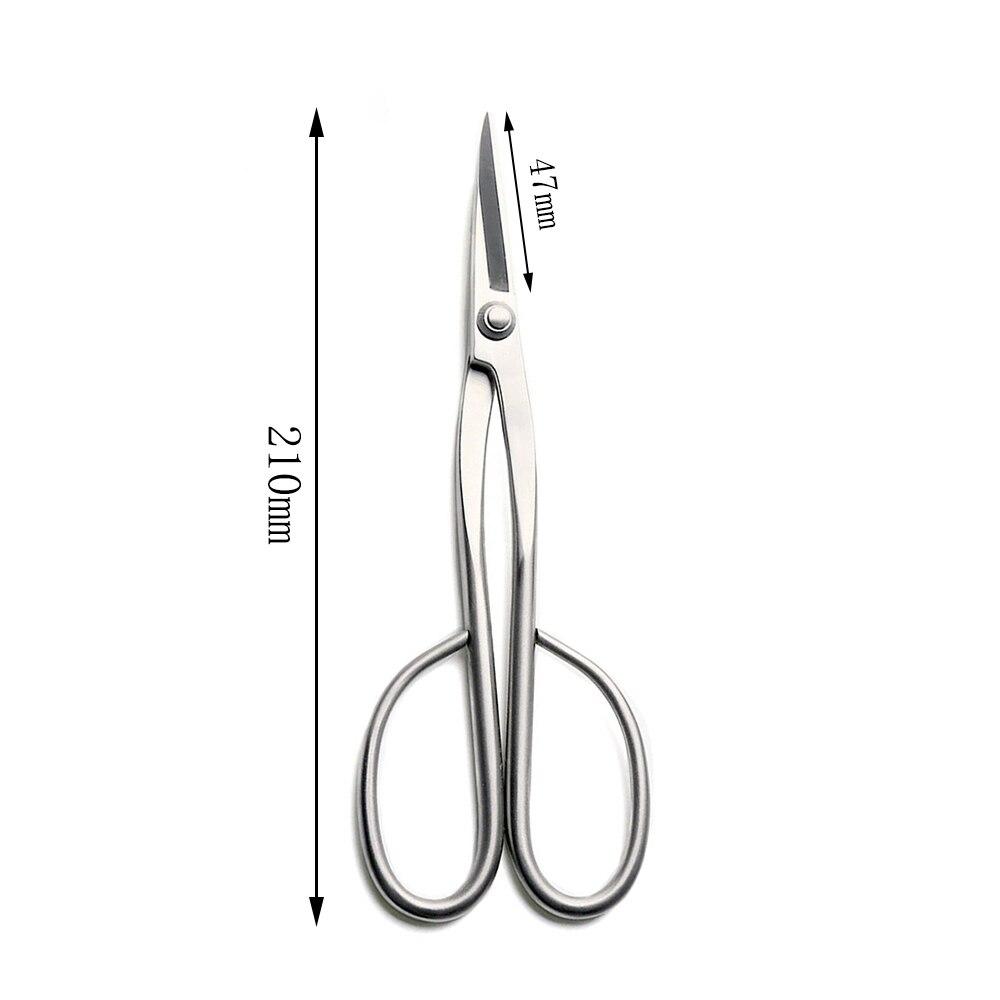 TianBonsai Bonsai Handle Bonsai Alloy Steel From 210mm Tools Grade Beginner Long Scissors