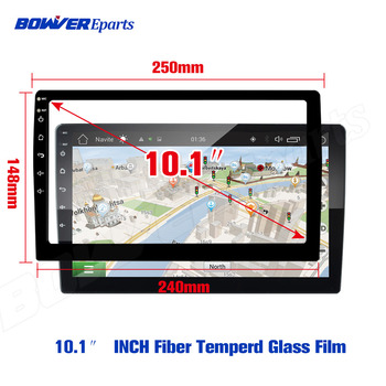 Tempered Glass film forTEYES CC2 For LADA X ray Xray 2015 - 2019 Car Radio Multimedia Video Player Navigation GPS Android 8.1 image