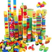 277 قطعة متوافق مع دوبلود اللبنات الحيوانات تمثال كلاسيكي مدينة الطوب كونستوركتيون ألعاب تعليمية للأطفال