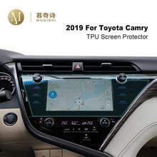 цена на 9 Inch For Toyota Camry 2018 2019 Navigation Screen Film Car LCD GPS Display Cover TPU Dashboard Protector Dash Board Guard