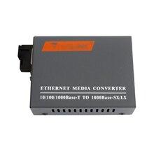 Gigabit alıcı verici HTB GS 03 A veya HTB GS 03 B tek modlu tek fiber optik fiber alıcı verici fotoelektrik dönüştürücü B tarafı