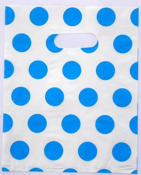 Carrier-Bags Packing Dots Plastic 100pcs/Lot 015040046 Colorful Wholesale 30--40cm
