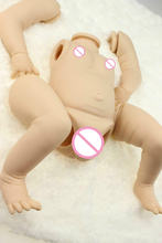 Мягкая виниловая силиконовая кукла реборн для мальчиков набор