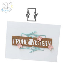 2019 Nieuwe Collectie Frame Metalen Stansmessen 3D Diy Scrapbooking Carbon Sharp Craft Sterven Foto Uitnodigingskaarten Decoratie(China)