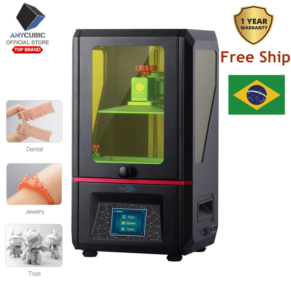 ANYCUBIC SLA 3D Printer Photon Plus Size 2K Screen Off-Line Print UV LCD 405nm Resin Desktop 3D Printer Kit impresora 3d