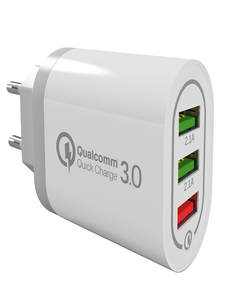 Wall-Charger QC3.0 Quick-Charging Phone Auto-Power-Adapter Usb-Ports Universal 18W