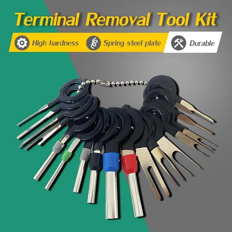 Connector Pin Extractor Terminal Removal Tool Kit Car Electrical Wiring Crimp