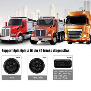Image 4 - Auto Truck OBD2 Scanner Heavy Duty Truck Diagnose Code Reader Auto Scanner Truck Abs Dpf Olie Licht Reset Auto Diagnose tool