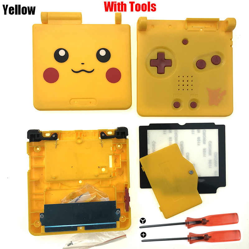 2020 New For GBA SP Housing Shell Case Replacement Full Cover Set For Nintendo GameBoy Advance SP Accessories Dropshipping