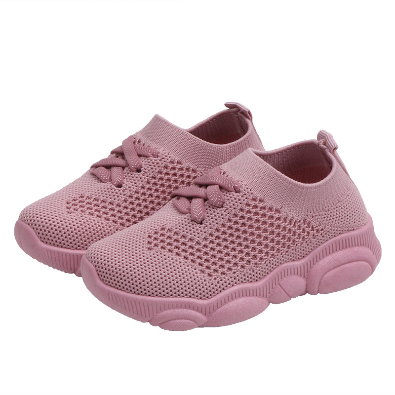 2020 Kids Shoes First Walker Anti-Slip Soft Bottom Baby Sneaker Casual Flat Sneakers Shoes Children Size Girls Boys Sports Shoes