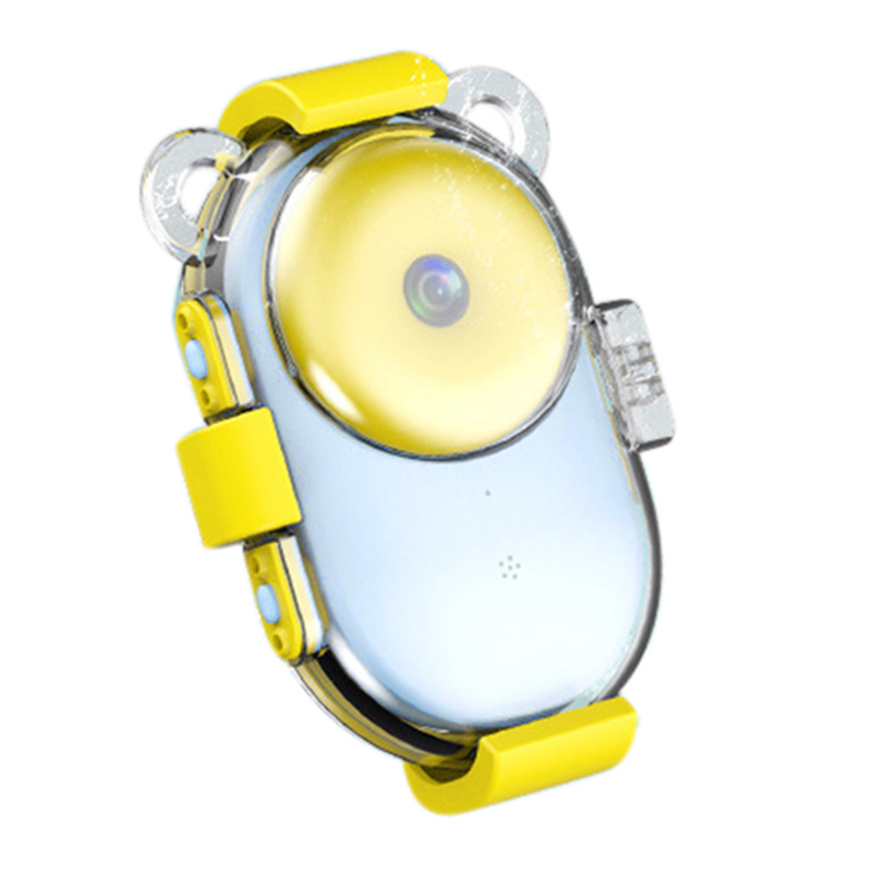 WiFi Waterproof Kids Camera With 2.4Inch IPS Screen Mini Rechargeable Children Camcorder Toy Gifts For Girls Boys Swimming/Outdo