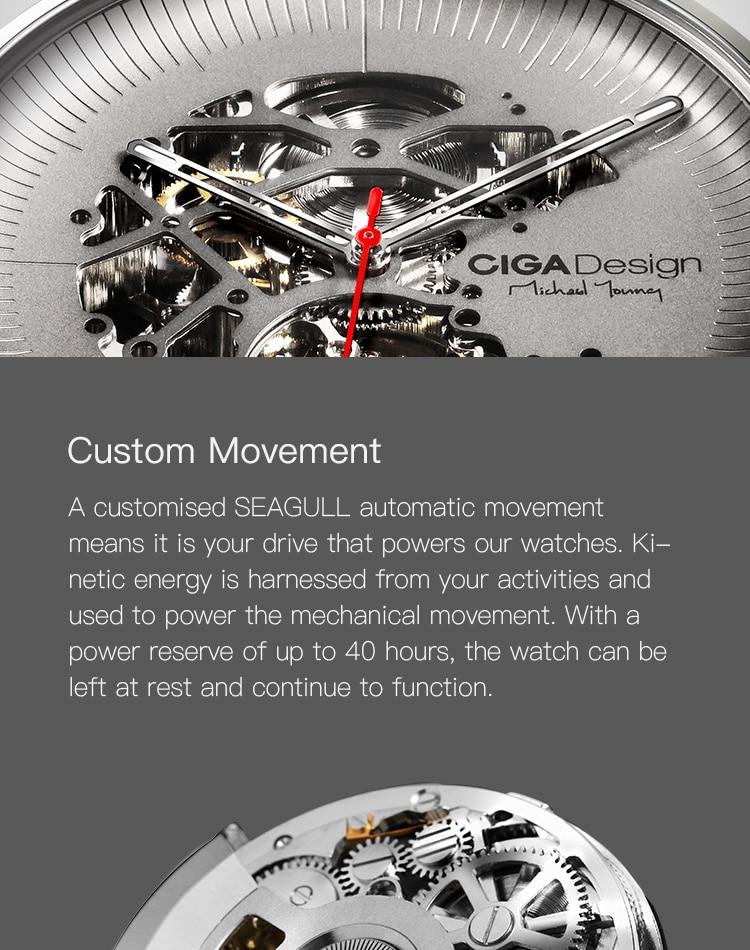 H8307625e792d416b86591e18c7930ea6q CIGA DSIGN MY Series Titanium Dial Watch Automatic Mechanical