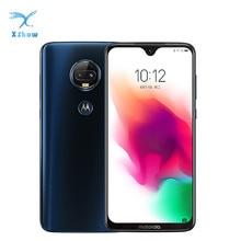 "Motorola moto G7 artı 4GB/6GB 128GB 6.24 ""su damlası ekran çift arka kamera Snapdragon 636 Octa çekirdekli Android 9 cep telefonu"