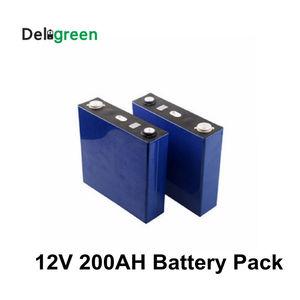 CATL 12V 200AH 3,2 v Номинальный LiFePO4 аккумулятор литий-ионные элементы 3,65 V Lipo призматические батареи в наличии 4 шт в партии