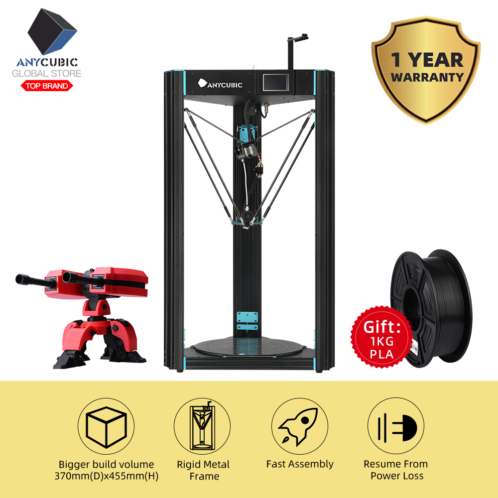 Anycubic Touch-Screen Predator 3d-Printer Impresora-Parts Large TFT FDM 370mm--455mm title=
