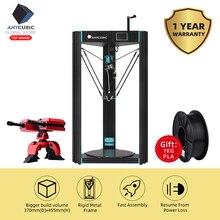 Anycubic 3D Printer Predator 370mm*455mm Large Printing Size FDM Full Metal 3d print TFT Touch Screen 3D Drucker Impresora Parts