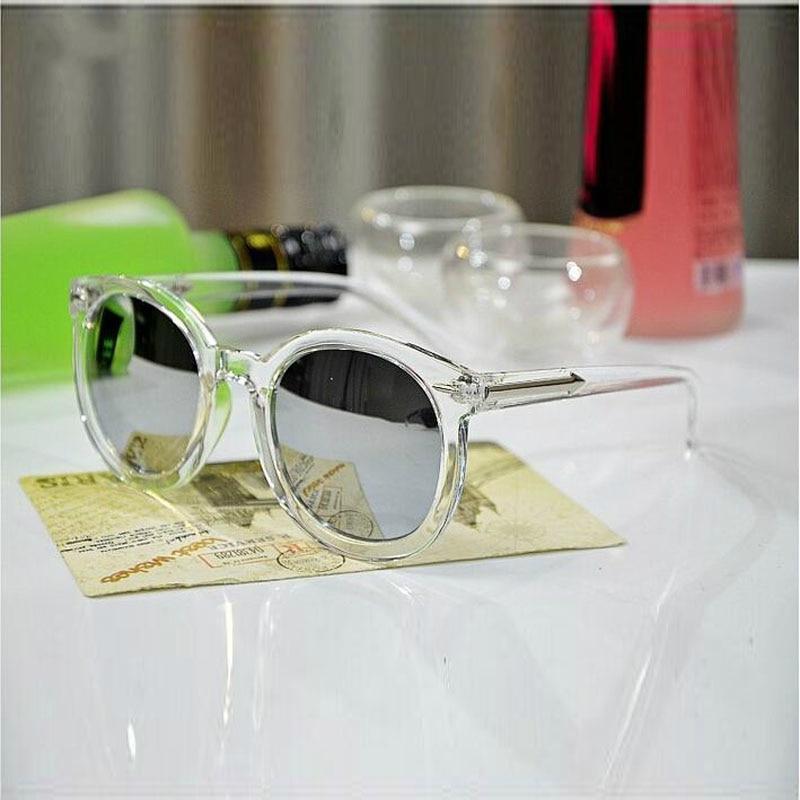 Transparent Fashion Women's Sunglasses Women Vintage Woman Sun Glasses Oculos De Sol Feminino Brand Mirror Uv400