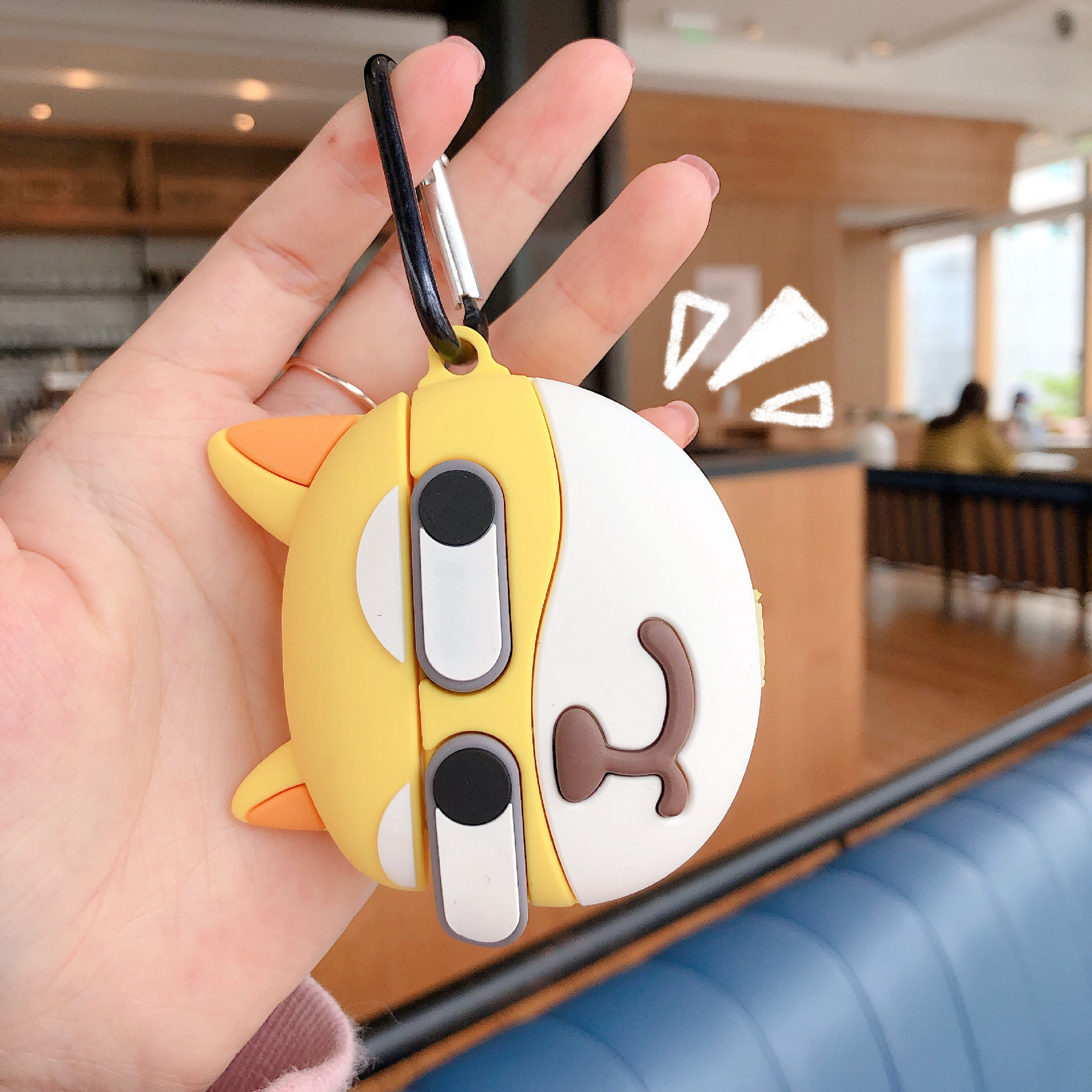 Cartoon Shiba Inu Bluetooth Earphone Case for AirPods Pro Silicone Soft Headphones Cover for Airpods 2 3 Cute Protective Case