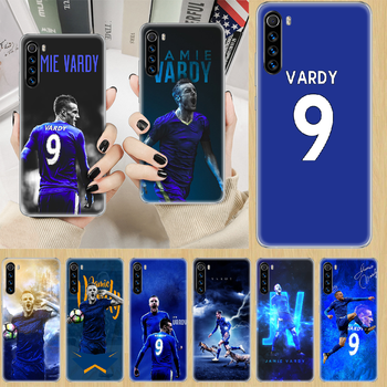 Jamie Vardy soccer football Phone Case cover For XIAOMI Redmi Note 3 4 4X 5 6 7 8 9 Pro T S max transparent cover painting coque image