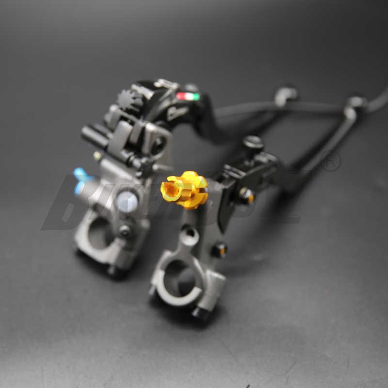 19 rcs オートバイのブレーキマスターシリンダーケーブルクラッチラジアルブレーキポンプ 22 ミリメートルユニバーサルホンダヤマハカワサキスズキ用