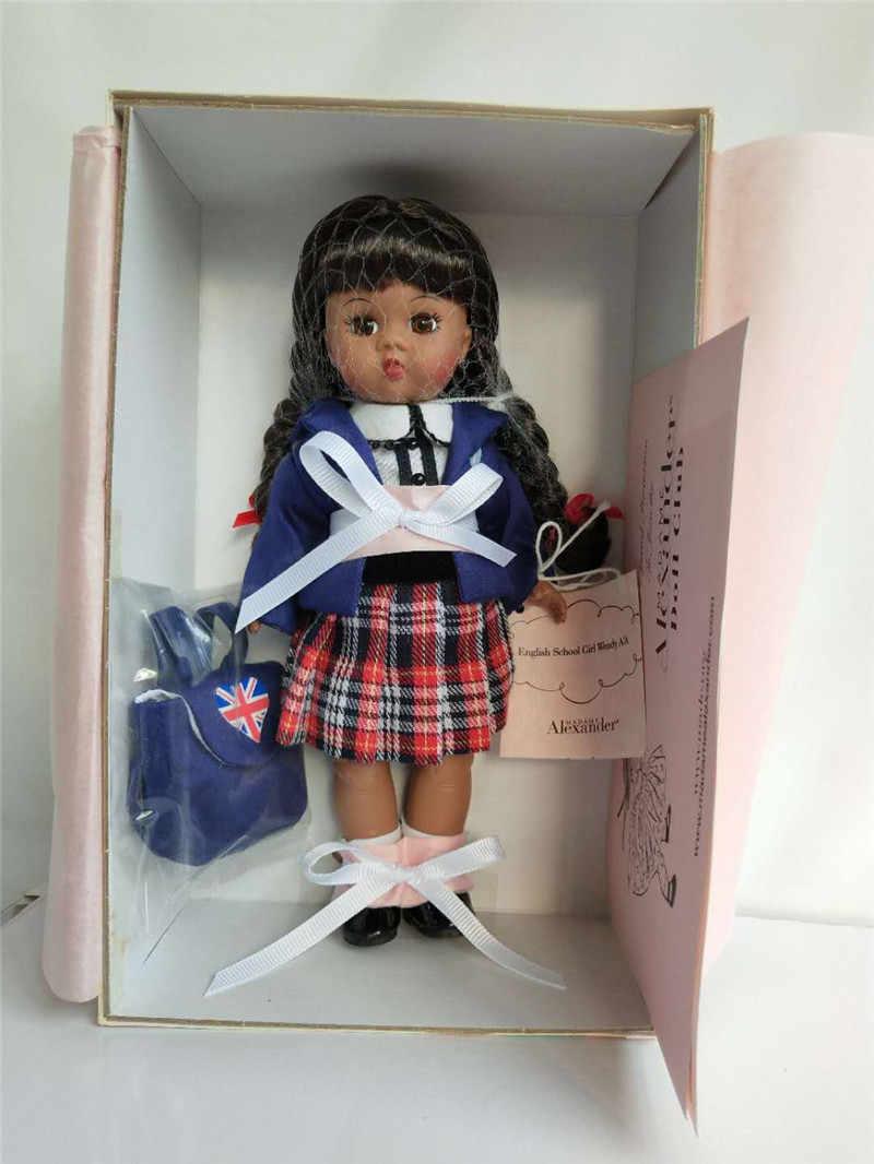 مجموعة محدودة Vintage الكسندر دمية فتاة طفل مشترك دمية لعبة الأطفال هدية عيد ميلاد 40 سنتيمتر