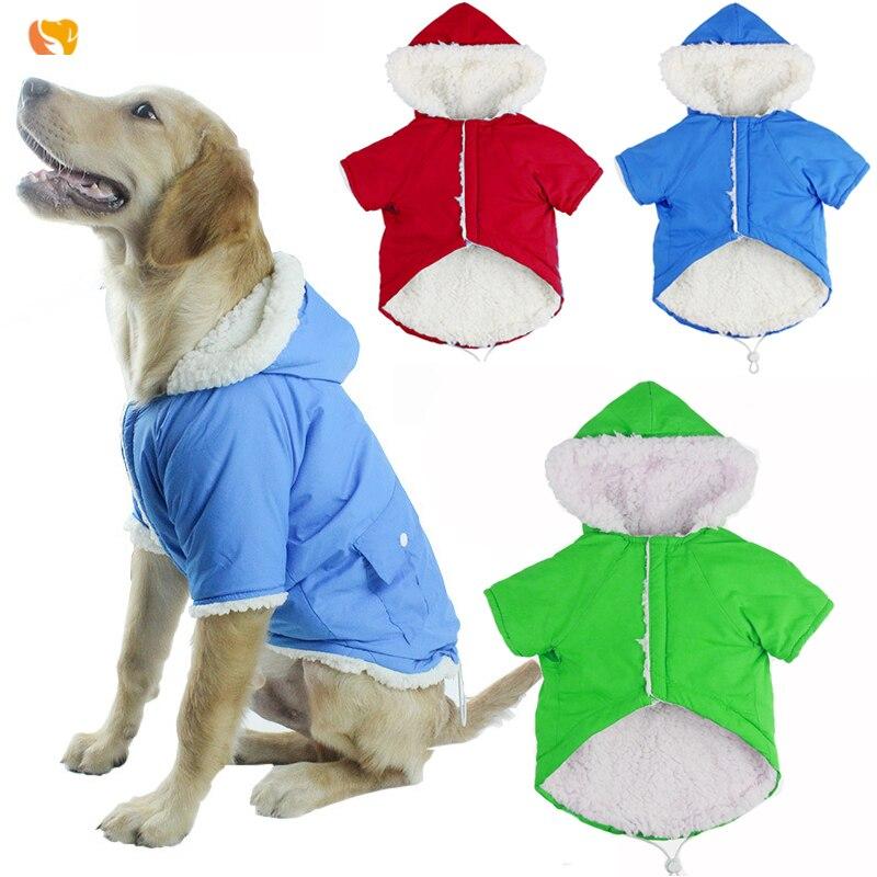 Roblue Perros Abrigo de Invierno Franela Estrella Color Abrigo con Capucha Cachorro Gato Mantel 4/Soporte Ropa