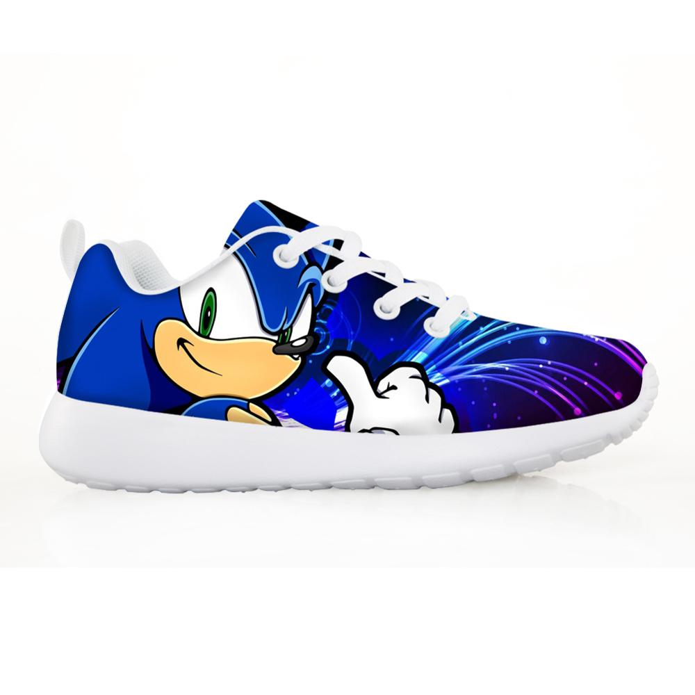 2020 Kids Children's Baby Shoes Sonic Sneakers For Children Boys Girl Pretty The Sonic Kids Comfortable Breathable Lace-up Shoes