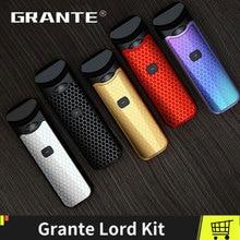 100% Original Grante Lord Kit With 1100mAh Battery 3ml Vape Pen Pod Fit Ceramic Regular Mesh  MTL Coil Vaporizer Ecigs