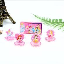Детская игрушка марки 3,5 см мультфильм фея принцесса штамп Inkpad запечатывание отпечатков пальцев трафарет Изготовление поделок своими руками
