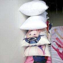 Kawaii 150x50cm Big Long Sleep Dakimakura Hugging Body Pillow Anime Body White Pillow Core Filling Pillow Filler Decoration Home
